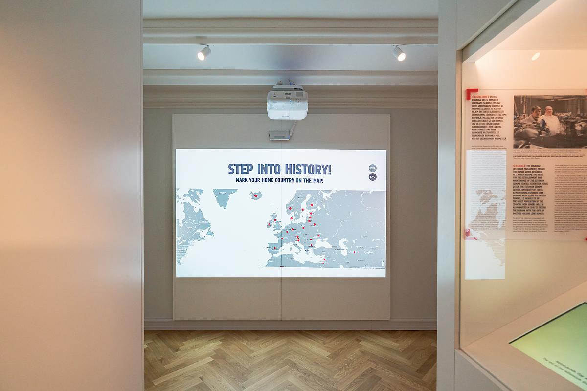 Eesti Ajaloomuuseum, näitus Minu Vaba Riik / Estonian History Museum, exhibition My Free Country. Copyright TM Development