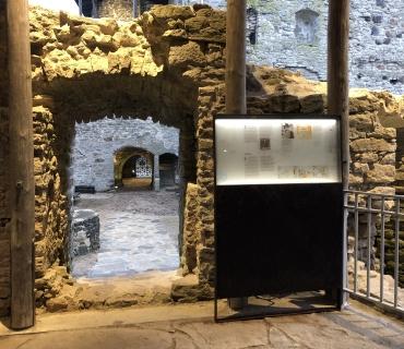Padise monastery exhibition